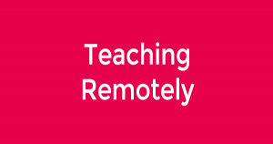 teachingremotely