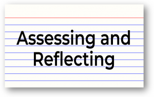 Assessing and Reflecting